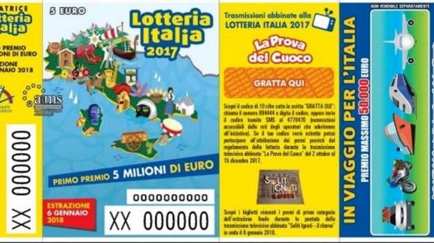 biglietti vincenti, lotteria italia, Sicilia, Cronaca