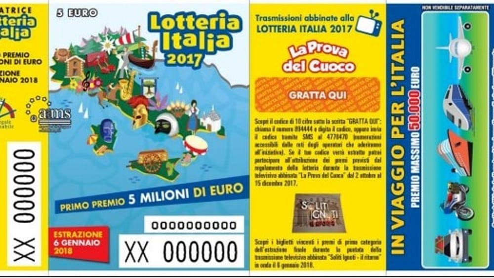 Lotteria Italia, otto biglietti venduti nel veronese valgono 20mila euro