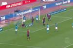 I tre gol del Napoli al Bologna, ecco il video