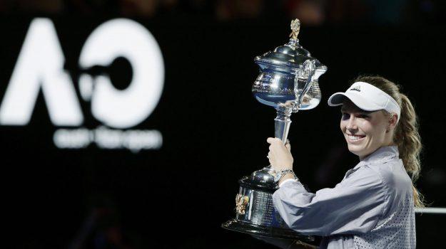 Tennis Australian Open, Caroline Wozniacki, Sicilia, Sport
