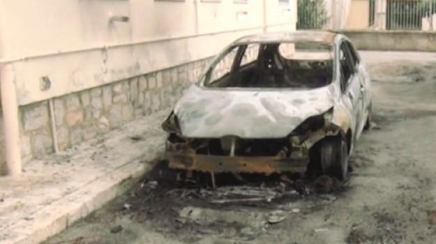 incendio auto realmonte, Agrigento, Cronaca