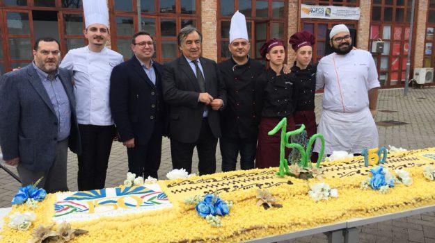 azione cattolica 150 anni, euroform, torta azione cattolica, Leoluca Orlando, mauro lo faso, Palermo, Società