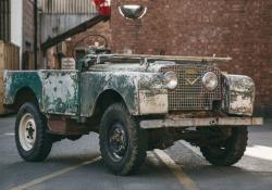 Per 70 anni Land Rover, via al restauro della vettura numero uno