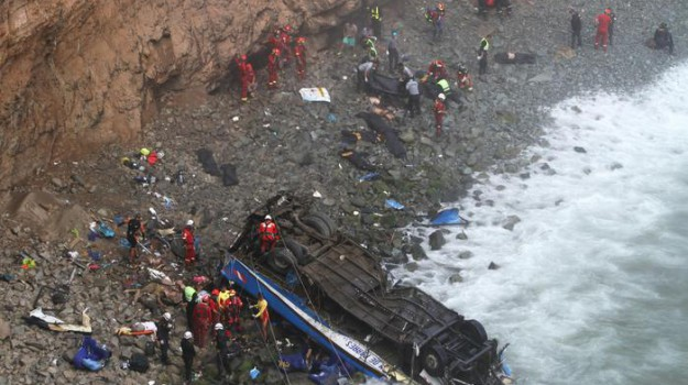 incidente bus perù, Sicilia, Mondo