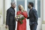 Sanremo 2018, Michelle Hunziker e Pierfrancesco Favino affiancheranno Claudio Baglioni