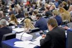 Il Parlamento europeo al momento del voto - fonte: PE