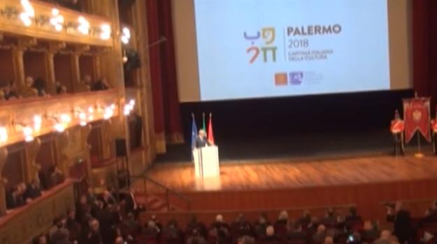Palermo è capitale della Cultura per il 2018, la cerimonia di apertura al teatro Massimo