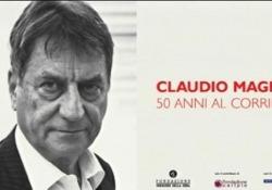 Claudio Magris, 50 anni al Corriere