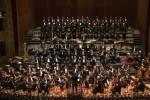 Un'immagine di un'edizione precedente del concerto di capodanno al Massimo