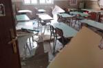 Crolla soffitto in una scuola elementare: paura a Bagheria, ma nessun ferito