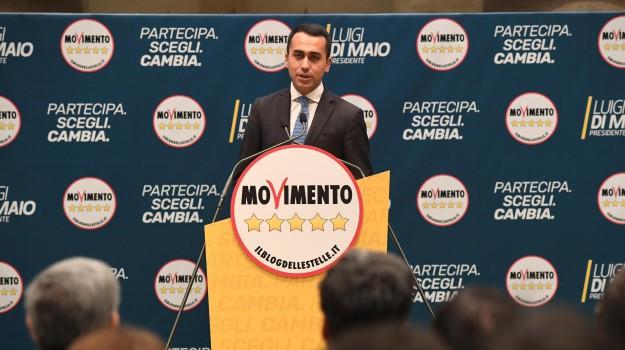 elezioni politiche 2018, MOVIMENTO 5 STELLE, Luigi Di Maio, Sicilia, Politica