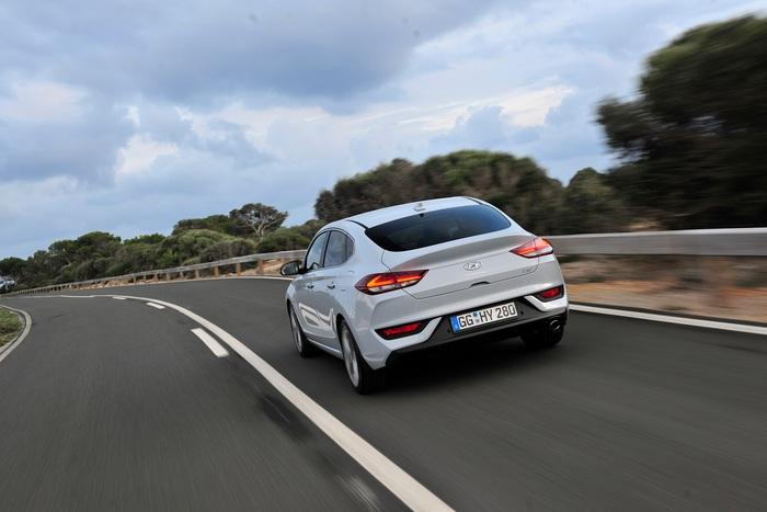 Hyundai arriva sul mercato coupé i30 fastback giornale di sicilia