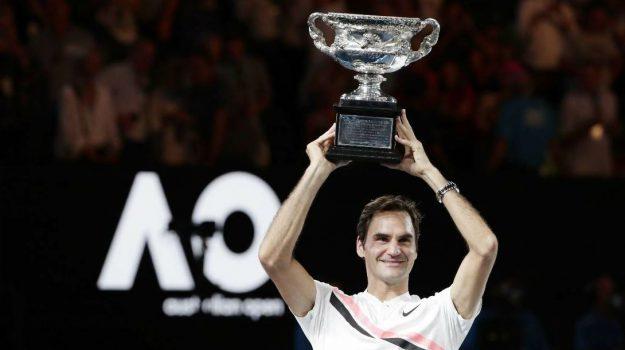 Tennis Australian Open, Roger Federer, Sicilia, Sport
