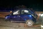 Cento metri con l'auto ribaltata sulla Palermo-Messina: illesa la figlia di Sonia Alfano