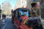 Il trenino della befana per le vie di Palermo - Foto