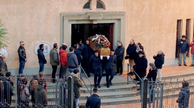 funerali Fabio Quattrocchi, nicosia, Fabio Quattrocchi, Enna, Cronaca
