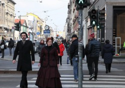 «Ghosts in Milan». Strada - clip 8