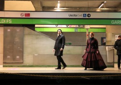 «Ghosts in Milan». Treni - clip 4