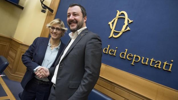Lega, Giulia Bongiorno, Matteo Salvini, Sicilia, Politica