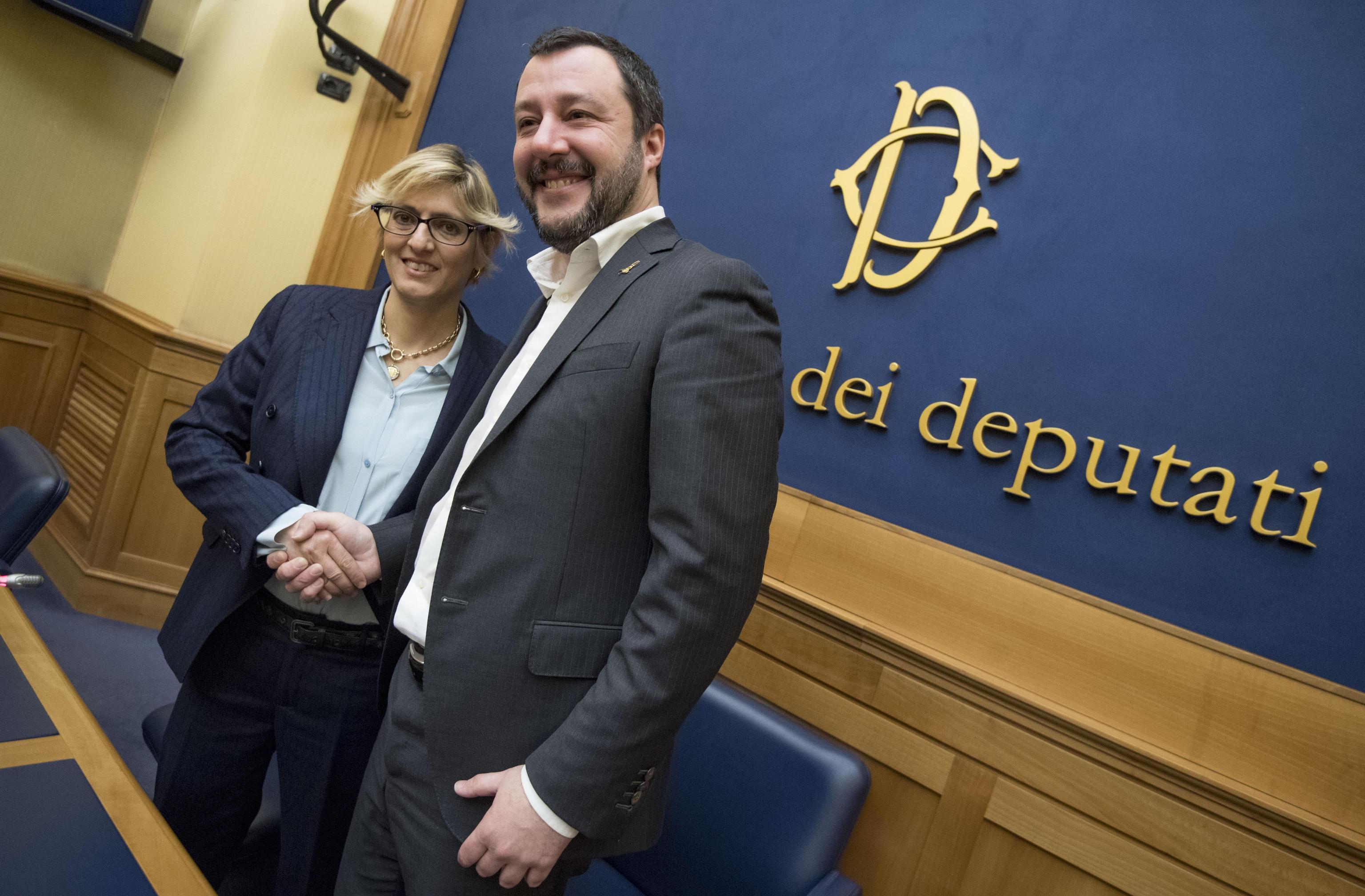 Giulia Bongiorno candidata con la Lega
