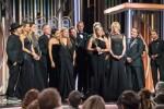 Golden globes: delusione per l'Italia, abiti neri per le donne vittime di molestie