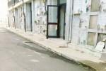 Caltanissetta, crolli al cimitero: vietato l'accesso alle tombe