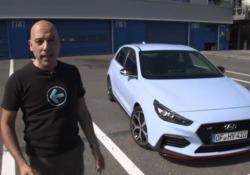 Hyundai i30NLa prova in pista