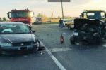 Scontro tra due auto a Ramacca, quattro persone ferite