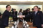 Olimpiadi invernali, storico incontro tra le delegazioni delle due Coree