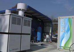 L'impianto che trasforma le acque reflue in energia elettrica