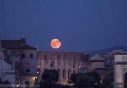 La superluna: il video spettacolare a Roma