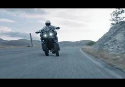 La Yamaha Niken su strada