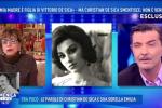 """David Merlo: """"Mia madre è la figlia illegittima di Vittorio de Sica"""""""