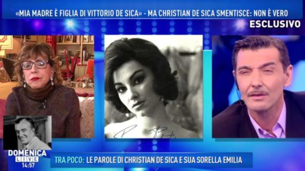 Barbara D'Urso, Christian De Sica, david merlo, Vicky Lagos, Sicilia, Società