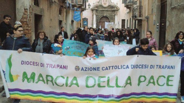marcia per la pace trapani, Trapani, Cronaca