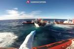 Migranti, oltre 900 in arrivo a Catania a bordo di una nave della Marina italiana