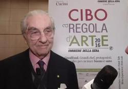 Morto Gualtiero Marchesi: «Tutti i migliori chef sono stati miei allievi. Ci sono troppe trasmissioni in tv»