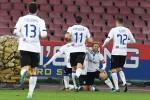 Impresa dell'Atalanta al San Paolo, Napoli eliminato dalla Coppa Italia - Le immagini