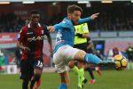 Il Napoli si riprende la vetta, riecco il Milan. In crisi Inter e Roma