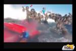 A Catania i migranti superstiti del naufragio
