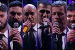 I Neri per Caso sul palco di Sanremo dopo 23 anni con Elio e Le Storie Tese