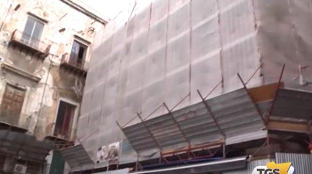 Alla Vucciria di Palermo si lavora per il recupero di Palazzo Mazzarino