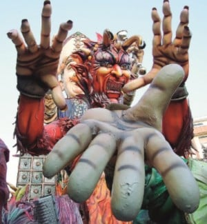 Il Carnevale di Sciacca apre con la pioggia