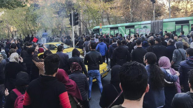Proteste Iran, Sicilia, Mondo