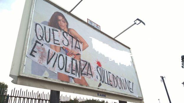 pubblicità oscurata palermo, pubblicità sessista palermo, Palermo, Cronaca