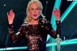 Sag Awards 2018, Nicole Kidman sofferente sul palco: «Scusate, ho l'influenza e non ho dormito»