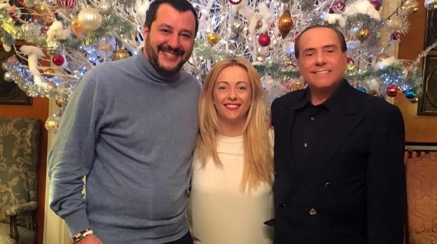 centrodestra, elezioni politiche 2018, forza italia, Lega, Matteo Salvini, Silvio Berlusconi, Sicilia, Politica