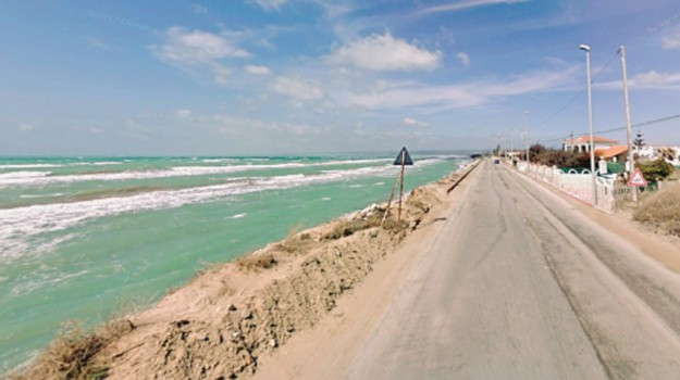 erosione costa, Ragusa, Cronaca