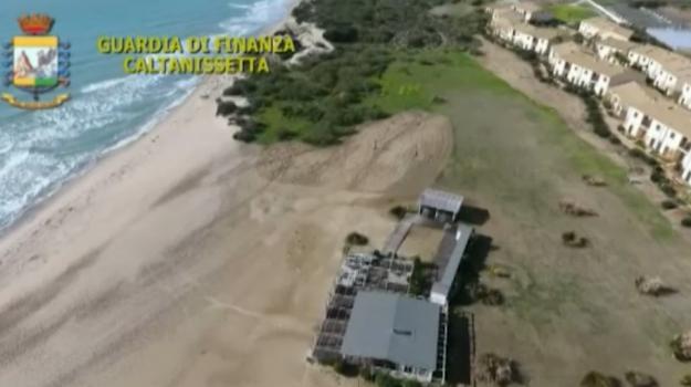 Butera, sequestrato il Sikania Resort