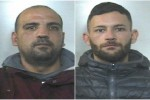 Gli arrestati Massimiliano Gebbia e Alessio Settecase
